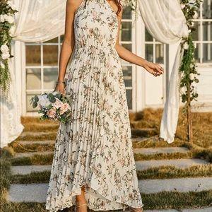Halter Midi dress size Med